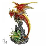 Statuetă dragon de foc
