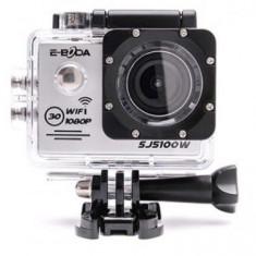 Camera Video de Actiune E-Boda SJ5100W, Full HD, rezistenta la apa, Wi-Fi (Argintiu)