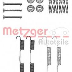 Set accesorii, saboti frana parcare NISSAN NAVARA platou / sasiu (D40) (2008 - 2016) METZGER 105-0896