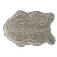 Blana artificiala, crem-maro, 60x90, MALONE