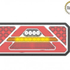 Lampa stop camion LED cu semnalizare dinamica SL-5015 12-24V