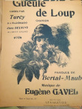 La gueule de loup, chanson, musique Eugene Gavel