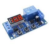 Modul 1 releu cu afisaj LED DC 12V cu timer si afisaj digiti
