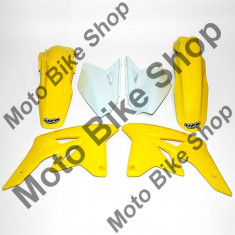 MBS Kit plastice albe Suzuki RMZ 250 2009, Cod Produs: SUKIT407B041