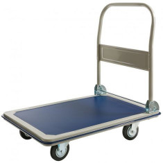 Carucior transport marfa cu maner pliabil 300kg