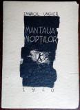 EMANOIL UNGHER: MANTAUA NOPTILOR,1940 (17 POEME/COPERTA+17 DESENE DE S. PERAHIM)