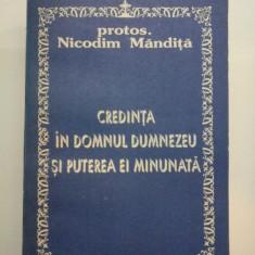 CREDINTA IN DOMNUL DUMNEZEU SI PUTEREA EI MINUNATA - Nicodim Mandita