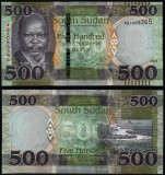 = SOUTH SUDAN - 500 POUND - 2018 - UNC    =