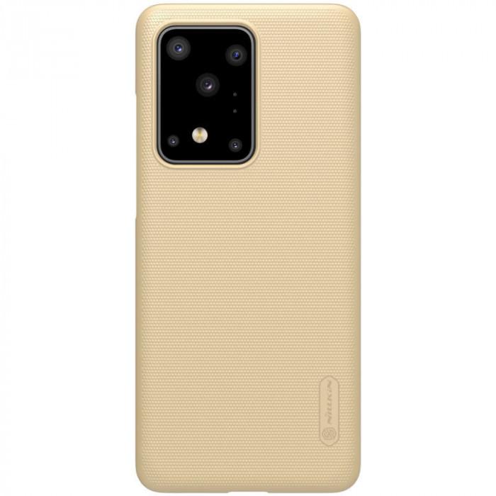 Husa Samsung Galaxy S20 Ultra Super Frosted Nillkin Auriu