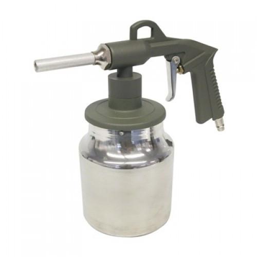 Pistol de sablat Carpoint cu recipient din aluminiu de 1 kg Kft Auto