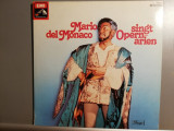 Mario Del Monaco – Sings Opera Arias – 2 LP Set ( 1980/EMI/RFG) - VINIL/ca Nou, emi records