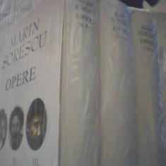 Marin Sorescu - OPERE { volumele I, II si III - POEZII } / 2018