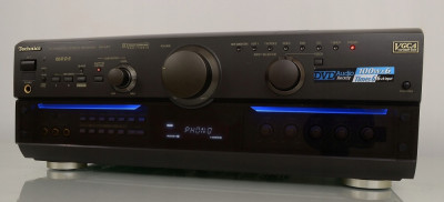 Amplituner Technics SA-AX7 cap de serie, telecomanda, stare foarte buna! foto