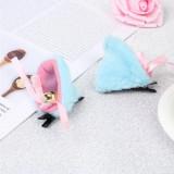 Urechi de pisica neko chan cosplay costumatie, Marime universala, Albastru