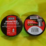 1.000 ALICE PELETE CAPSE 4.5 MM SWISS ARMS 500 CAP PLAT + 500 CAP ASCUTIT