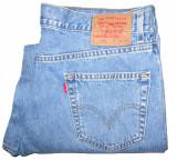 Blugi Barbati Levis Jeans LEVI'S 550 - MARIME: W 38 / L 32 - (Talie = 95 CM), Albastru, Lungi