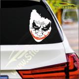 Joker Face-Stickere Auto-Cod:ESV-059-Dim :  20 cm. x 13.4 cm.