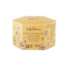 Crema Contur Ochi Apiterra 15ml Apicola Pastoral Georgescu Cod: appg00126