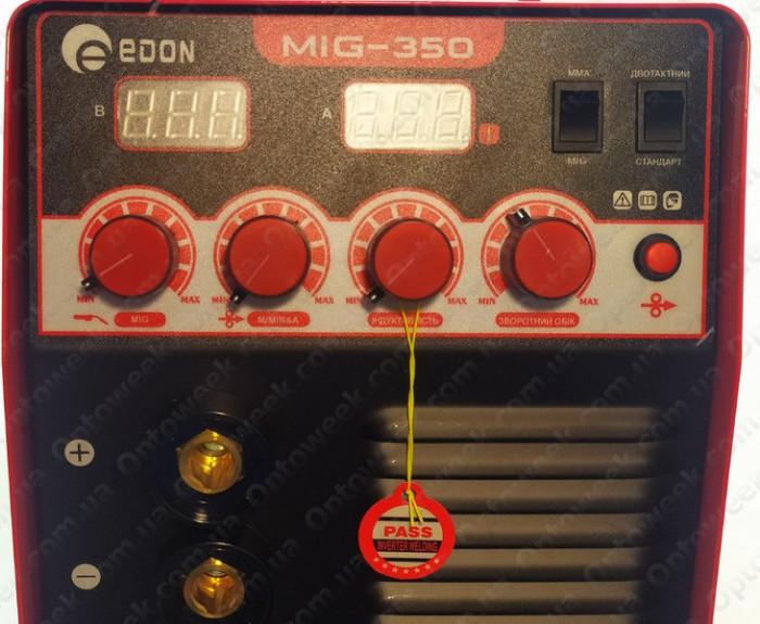 Aparat de Sudura / Invertor - EDON MIG/MAG 350 - MMA 350