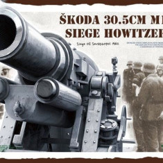 Macheta Takom, Skoda 30.5 cm M1916 Siege Howitzer 1:35
