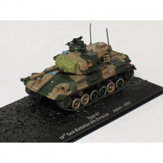 Macheta tanc Type 61 10th Tank Battalion 8th Division Japan - 1993 scara 1:72