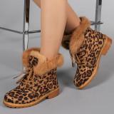 Ghete dama Crina leopard, 39, 41