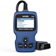 Interfata profesionala diagnoza auto OBD2, EOBD, CAN, 16 pini, ecran LCD, full scan
