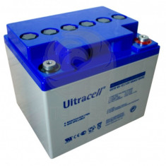Baterie (acumulator) GEL Ultracell UCG45-12, 45Ah, 12V, deep cycle