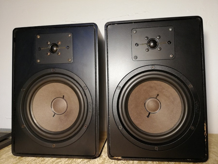 Set Boxe CANTON GLE 45 pe Compresie - 45-70 W/4-8 Ohmi - RFG/Vintage/Perfecte