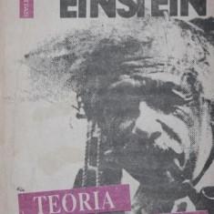 TEORIA RELATIVITATII O EXPUNERE ELEMENTARA - ALBERT EINSTEIN