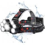 Lanterna de cap cu 7 LED si Zoom , Protectie IPX 4 ,Premium