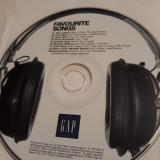 GAP FAVOURITE SONGS  -   CD