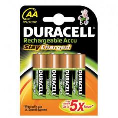 Set 4 Acumulatori R6, AA, 2400mAh, Duracell - 201366