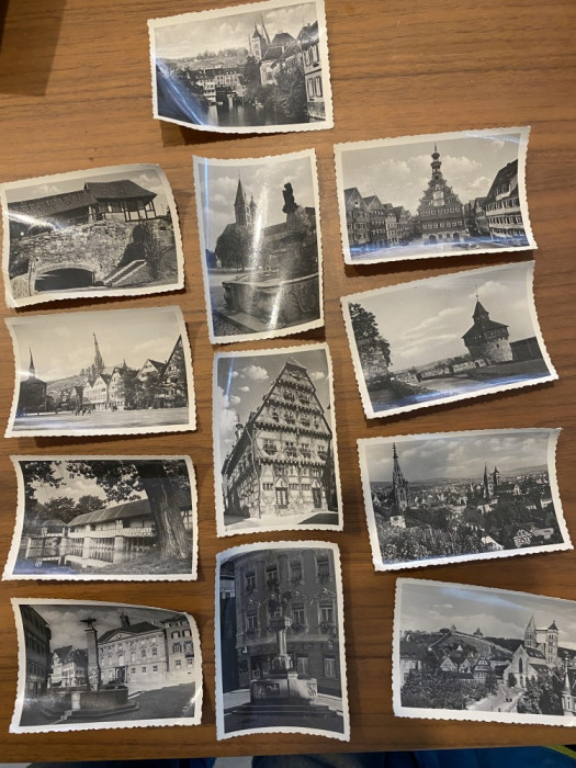 Fotografii vechi poze Germania 12 buc