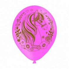 Baloane Unicorn Party din latex 27.5 cm set 6 buc