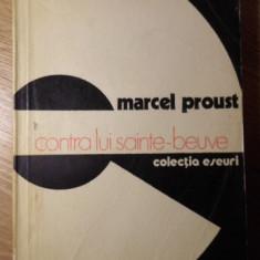 CONTRA LUI SAINTE-BEUVE - MARCEL PROUST