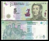 Argentina 2015 - 5 pesos UNC