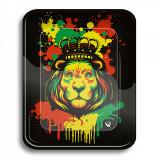 Cumpara ieftin Tava de rulat Clipper , Rasta Stencil Lion