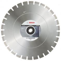 Bosch Best disc diamantat 500x25.4x12 mm pentru asfalt