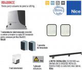 Automatizare pentru porti culisante de maxim 400kg, Nice Robus400