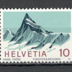 Elvetia.1966 Alpii elvetieni  MS.837