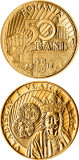 Romania, 50 bani 2014 UNC_comemorativa _Vladislav I Vlaicu