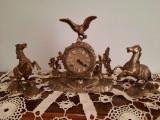 Set ceas antic de semineu