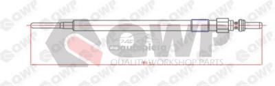 Bujie incandescenta MERCEDES C-CLASS (W204) (2007 - 2014) QWP WGP127 foto