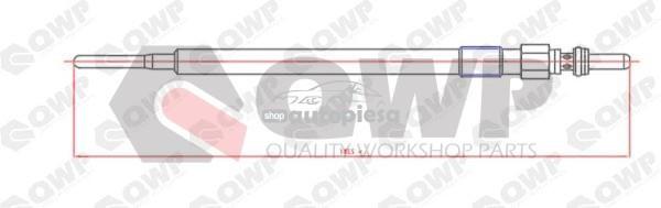 Bujie incandescenta MERCEDES C-CLASS (W204) (2007 - 2014) QWP WGP127