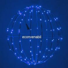 Glob luminos Craciun 240LED 50cm Albastru Prelungibil 1001B CL