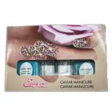Set caviar pentru manichiura, 12 culori