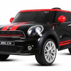 Masinuta electrica pentru copii Mini Paceman 2x35W 12V #Negru
