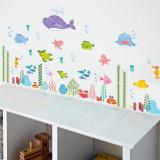Sticker pentru perete autocolant acvariu