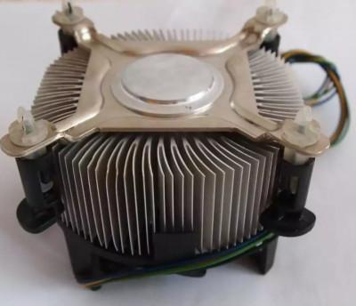 Cooler Original Intel 775 Box Ventilator de 80 mm Modelul cu radiator inalt pins foto